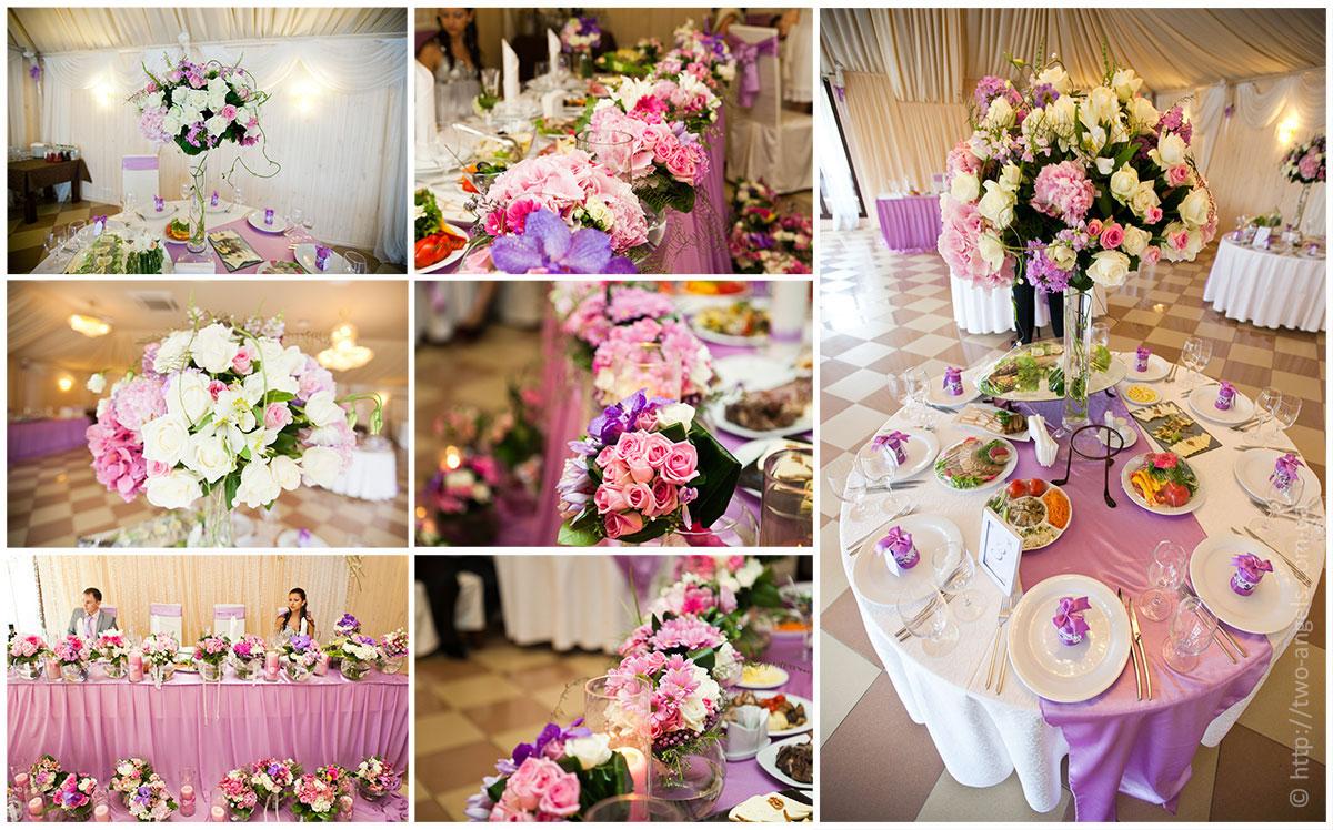 Сделать букет на свадебный стол своими руками